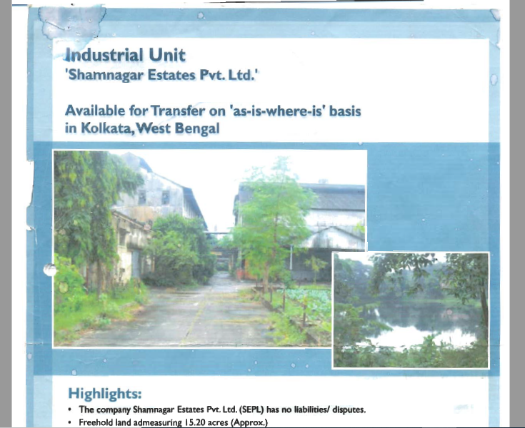 Commercial Property on Sale/Lease for Warehosuing, Logistics Hub, Industrial & Commercial Usage