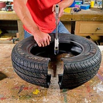 Write up on Import of Old & Used Tyres with One or Two Cuts in India